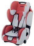 Recaro Young SPORT замша bellini цвет Red/Silver